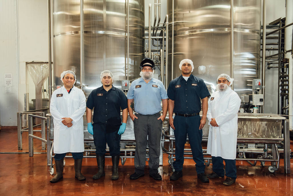 Javo Beverage Company's people make the difference.